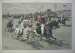 1886 Men Playing Polo at Newport